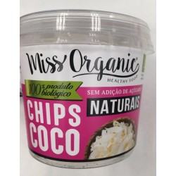 Chips de Coco Bio Natural 60g Miss Organic