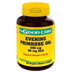 Evening Primrose Oil 500mg 50caps Good Care
