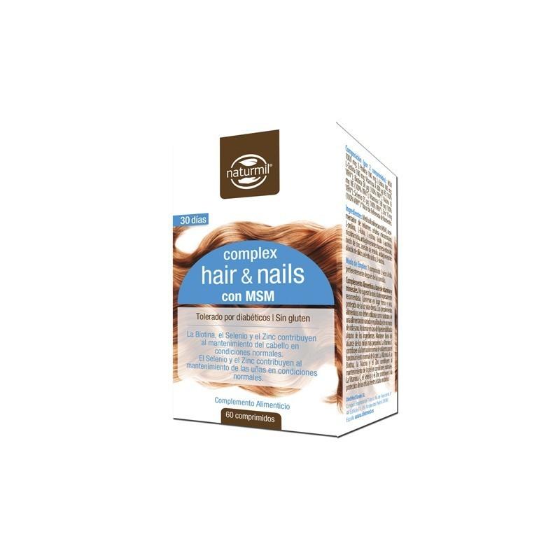 Naturmil Complex Hair & Nails 60 comprimidos