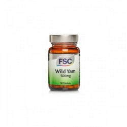 Wild Yam 500mg 30 comprimidos FSC