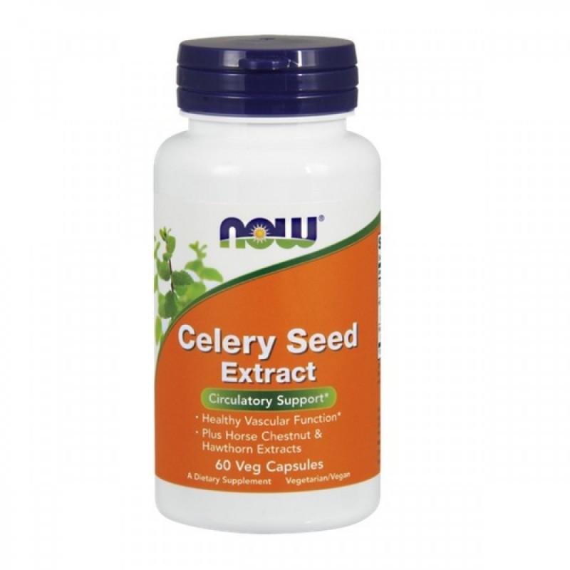 Aipo Celery Circulation (Extrato Semente Aipo) 60 cápsulas - NOW