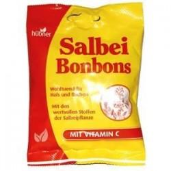 Rebuçados de Salva com Vitamina C - Hubner