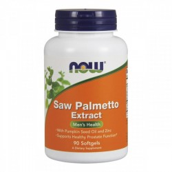 Saw Palmetto Extracto 80mg 90 cápsulas - NOW