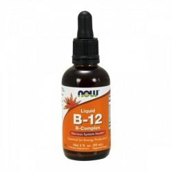 Liquid B-12 60ml - NOW