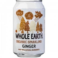 Whole Earth Refrigerante de Gengibre Bio S/Açúcar