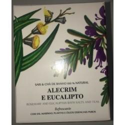 Sais & Chá de Banho Alecrim e Eucalipto 200gr