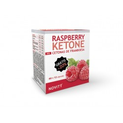 Novity Raspberry Ketone Framboesa – 60+12 cápsulas