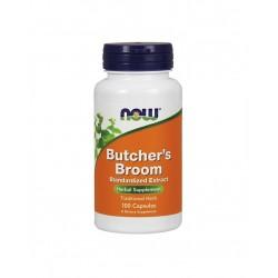 Butcher's Broom 100mg 10% Ext, 100 cáps – NOW