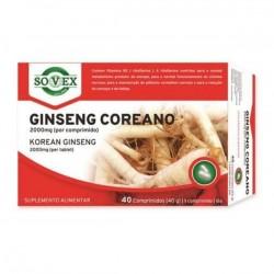 Sovex Ginseng Coreano 40 comprimidos