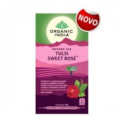Infusão Bio Tulsi SWEET ROSE 25 saquetas