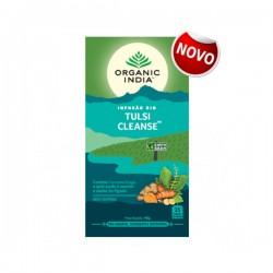 organic india infusão bio tulsi cleanse 25 saquetas