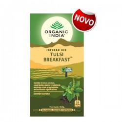 organic india infusão bio tulsi breakfast 25 saquetas