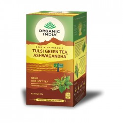 Organic india infusão bio tulsi ashwaganda 25 saquetas
