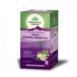 organic india infusão bio tulsi Jasmine green tea