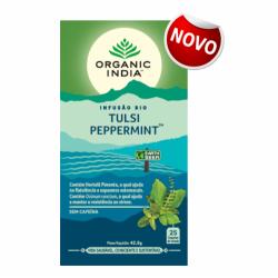 organic india infusão bio tulsi peppermint
