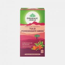 organic india infusão bio tulsi pomegranate grenn