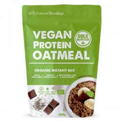 Gold Nutrition Vegan Protein Oatmeal Chocolate 300g