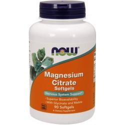 Magnesium Trio Citrato/Malato/glicinato 90 comprimidos - NOW