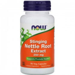 Now Stinging Nettle Root Extract 250mg 90 Cápsulas