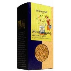 Sonnentor Mostarda amarela (grão) bio 120g