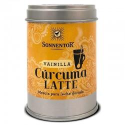 sonnentor curcuma latte baunilha bio 60g