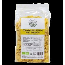 Flocos crocantes de milho e quinoa bio 250g