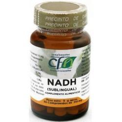 CFN Nadh Sublingual 10mg 30 Comprimidos