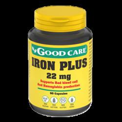 Good Care Iron Plus 22mg 60 cápsulas