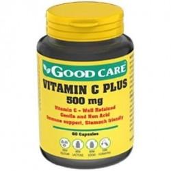 Good care vitamia c plus 500mg 60 capsulas