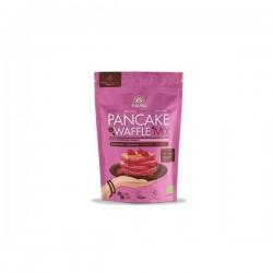 Pancake & Waffle Mix Beterraba Framboesa Bio Iswari 400 Gramas