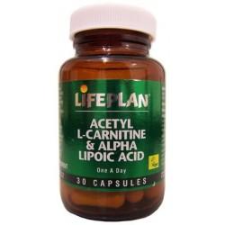ACETIL L-CARNITINA + ÁCIDO ALFA LIPÓICO