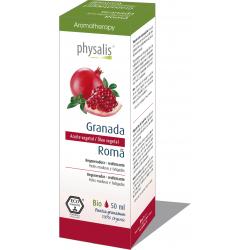 Óleo Vegetal de Romã Bio 50ml Physalis