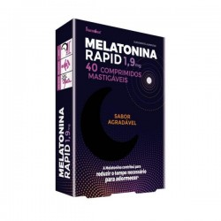 Fharmonat Melatonina Rapid 40 comprimidos mastigáveis
