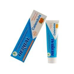 Calêndula pasta dentes sem menta