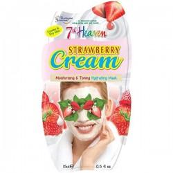 MJ MÁSC. Facial Hidratante Creme Morango 15ml