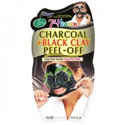 MJ Masc. Facial Peel-off Carvão Argila Preta 10ml