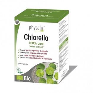 Chlorella 200 comprimidos Bio 2400mg Physalis