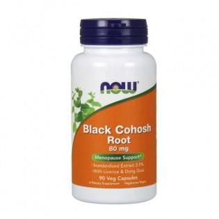 Now Black Cohosh Root 80mg 90 cápsulas