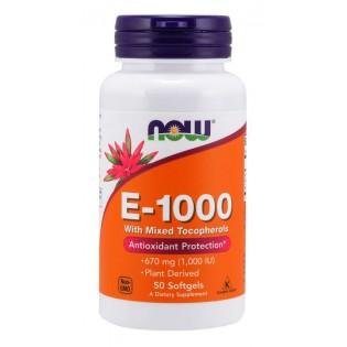 E-1000 - 50 cápsulas NOW