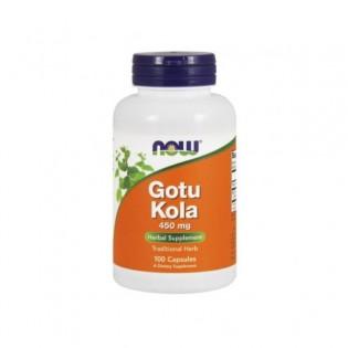 Gotu Kola 450mg 100 cápsulas - NOW