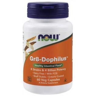 Gr8 - Dophilus 60 cápsulas vegetais Now Foods