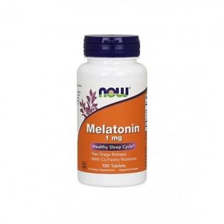 Melatonina 1mg 100 comprimidos - NOW