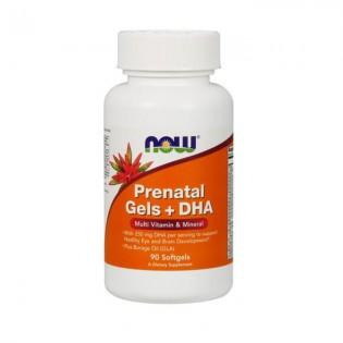 Prenatal Gels + DHA 90 softgels Now
