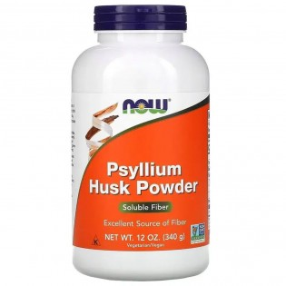 Now Foods Psyllium Husk Powder 340gr