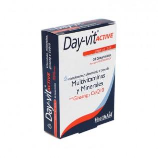 Health Aid Day-vit Active 30 Comprimidos