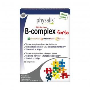 B-Complex forte 30 comprimidos Physalis