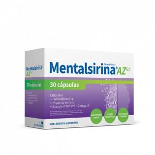 Mentalsirina AZ Rx 30 cápsulas Farmodiética
