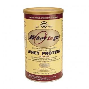 Solgar Whey Protein Pó Baunilha 340g