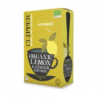 Infusão Limão & Gengibre BIO CUPPER