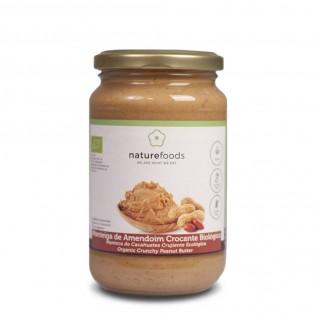 Manteiga de Amendoim Crocante Biológico 350g